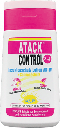 Atack Control - Insektenschutz Lotion AKTIV 2in1